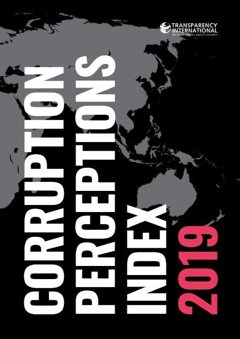 indice de la percepcion de la corrupcion 2019