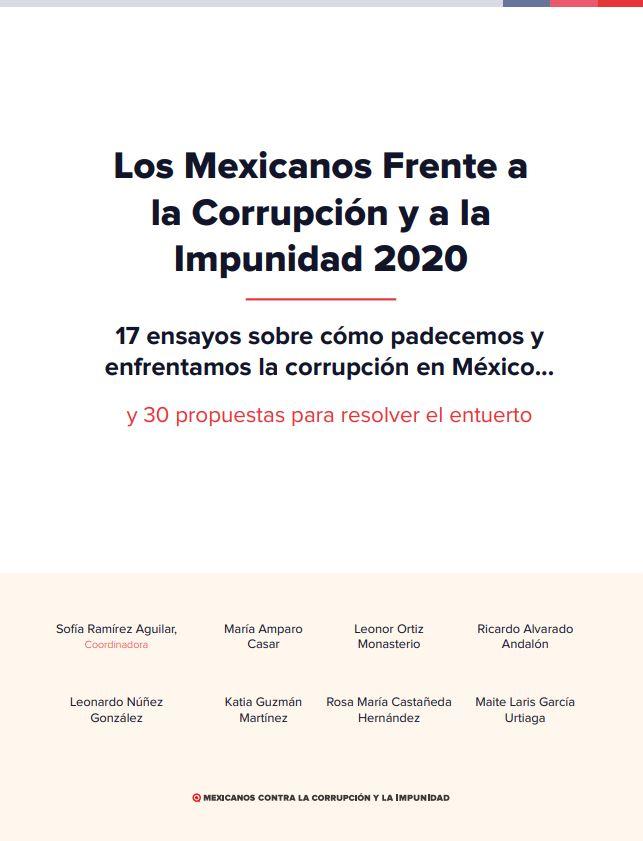 Mexicanos contra la corrupción e impunidad_Estudio 2020