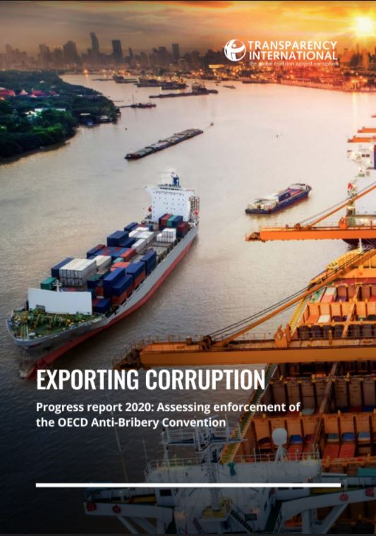 Exportando corrupcion