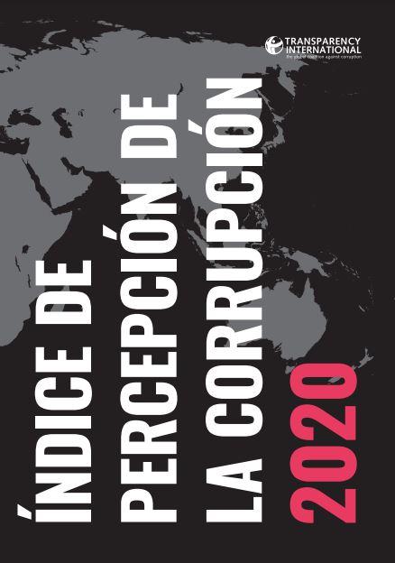 Indice de la percepción de la corrupción 2020