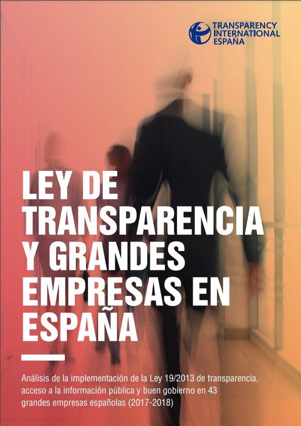 Ley de Transparencia y Grandes Empresas en España