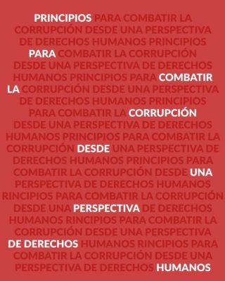 Pricipios para combatir la corrupción con perspectiva de DDH